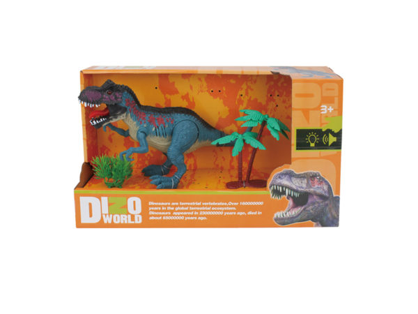 action t-rex toy dinosaur with sound dino play set wholesale