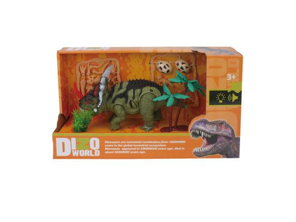 dinosaur wholesale triceratop toys dino playset