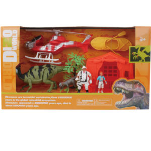 dinosaur rescue set wholesale dino playset action toys