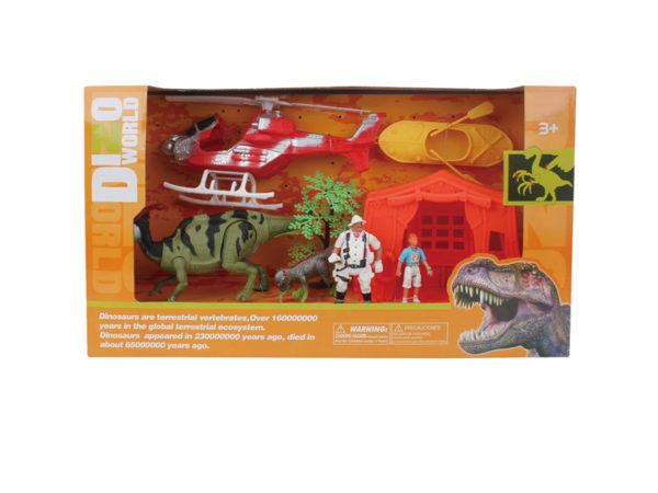 dinosaur rescue set wholesale dino playset action toys