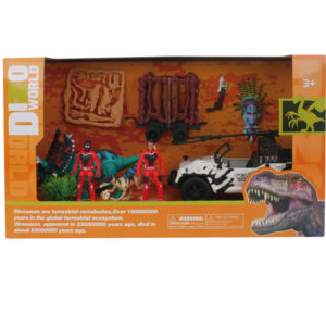 dino playset wholesale action dinosaur toy rescue theme toys