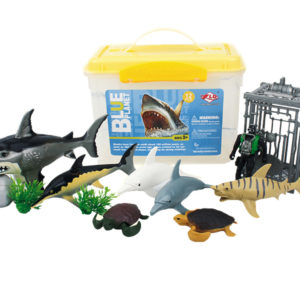 sea animal playset aquarium toys animal model factory