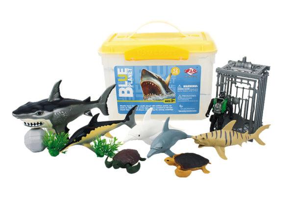 sea animal playset aquarium toys animal model factory
