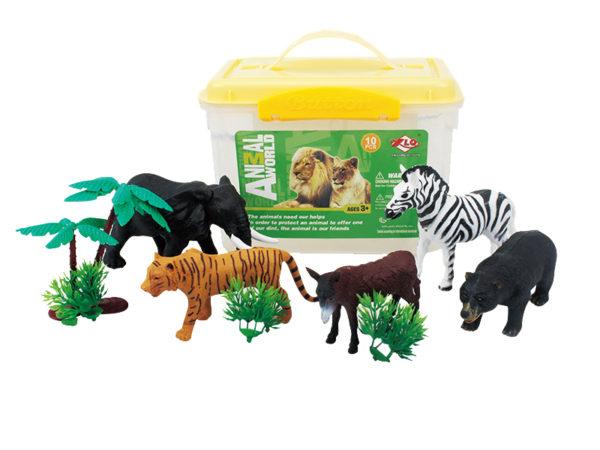 wild animal toy factory zoo animal playset wild life set
