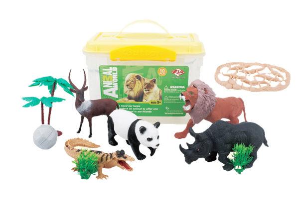 wild animal playset zoo toy supplier wildlife toys